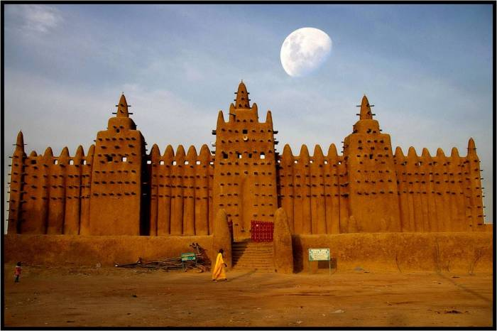 Mosque de Djenn Mali
